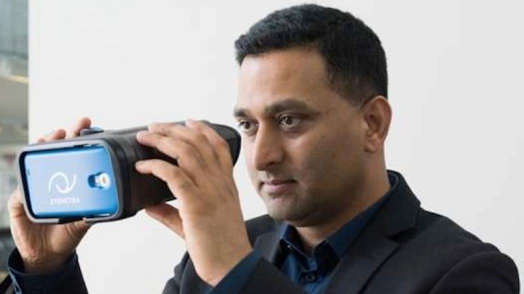 Устройство на смартфоне для проверки зрения и виртуальная реальность