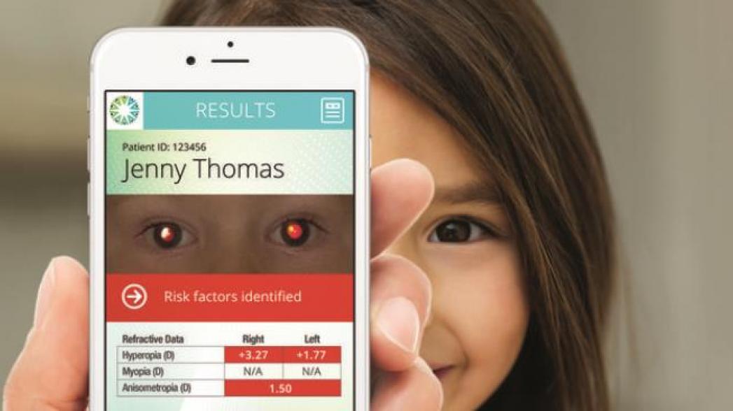 Проверить зрение у детей с помощью iPhone