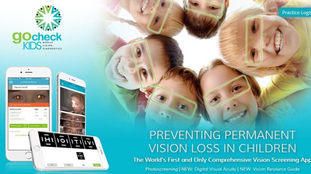 Приложение для проверки зрения у детей