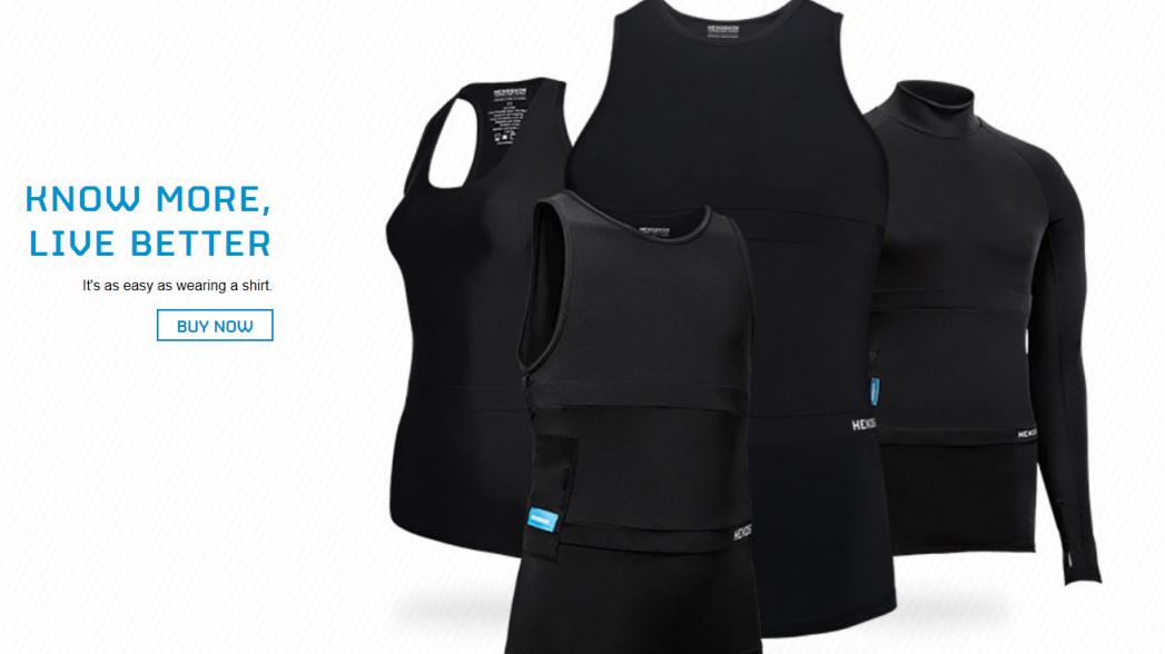 Hexoskin будет делать умную одежду не только для спортсменов
