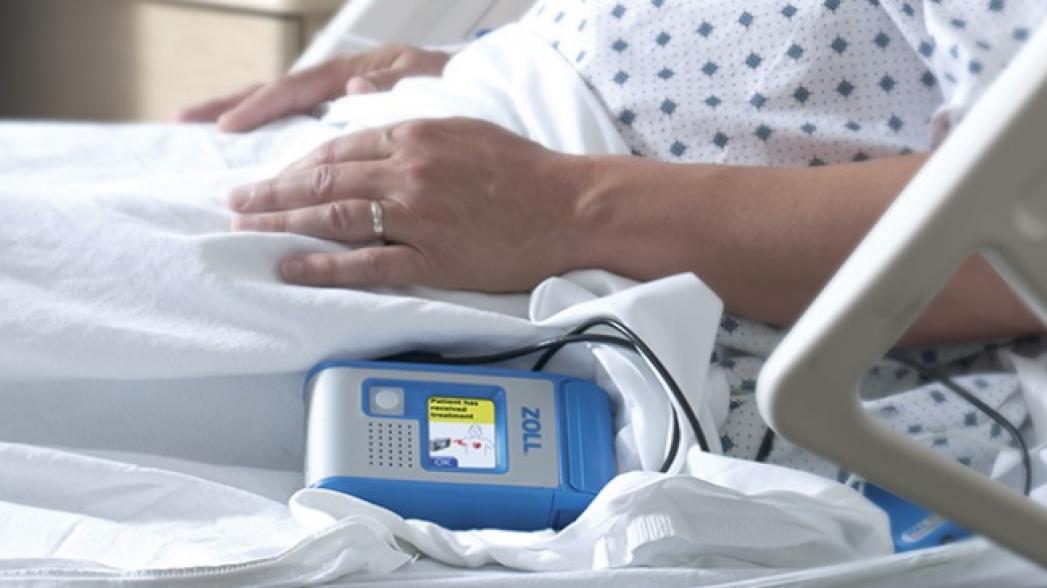 Больничный переносной дефибриллятор от ZOLL