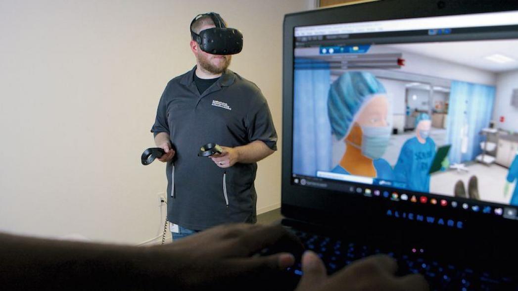 Виртуальная реальность как инструмент тренировки врачей скорой помощи и травмпунктов