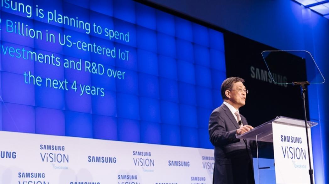 Samsung инвестирует $1.2 млрд в Интернет вещей