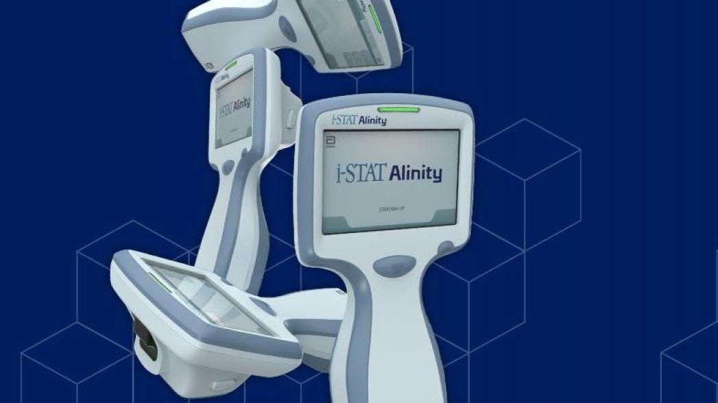 Портативная система тестирования крови Abbott i-Stat Alinity