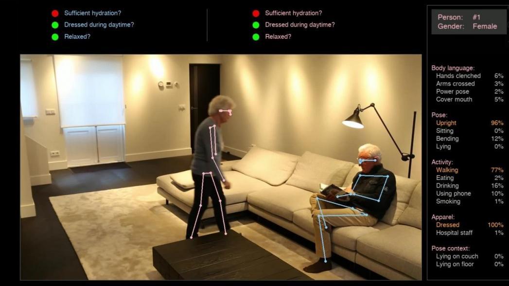 Система Kepler Vision для удаленного ухода за старыми родственниками