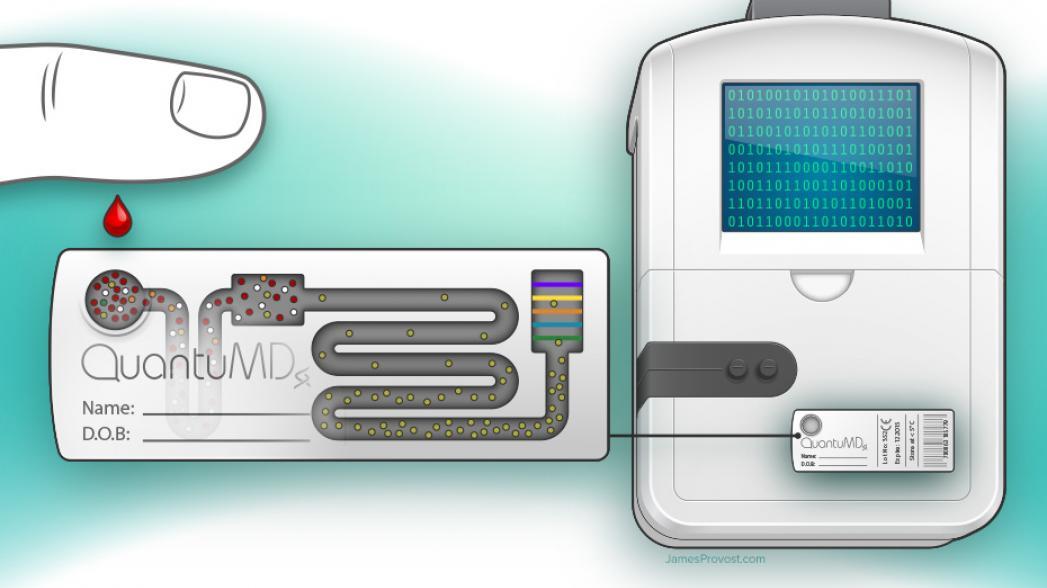 Из мира фантастики: карманное устройство сканирует ДНК и диагностирует болезни