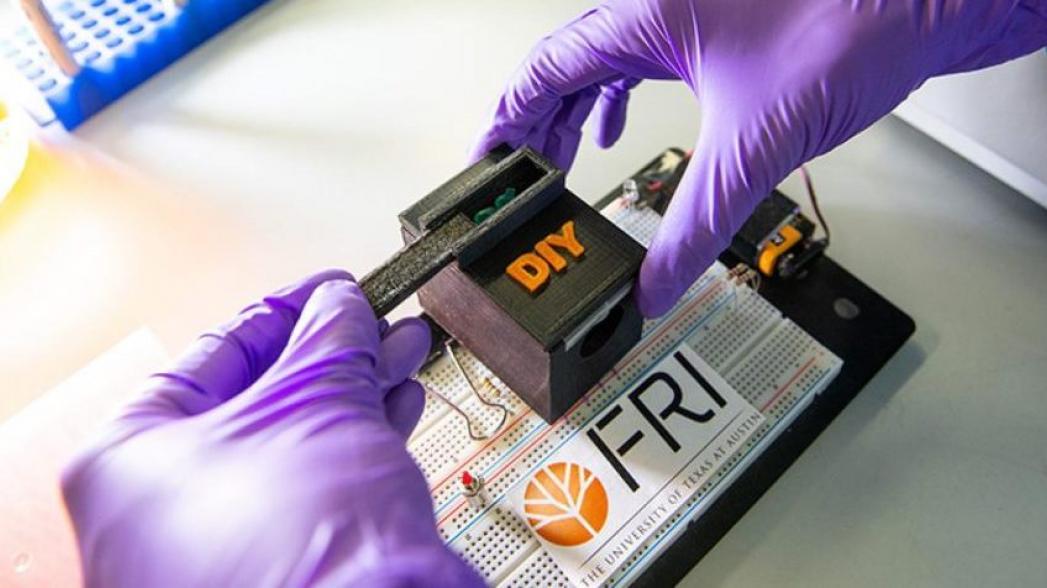 Портативное устройство для диагностирования комаров