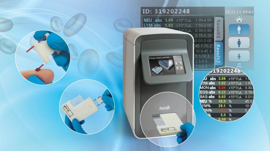 Портативный гематологический анализатор PixCell HemoScreen разрешен к использованию