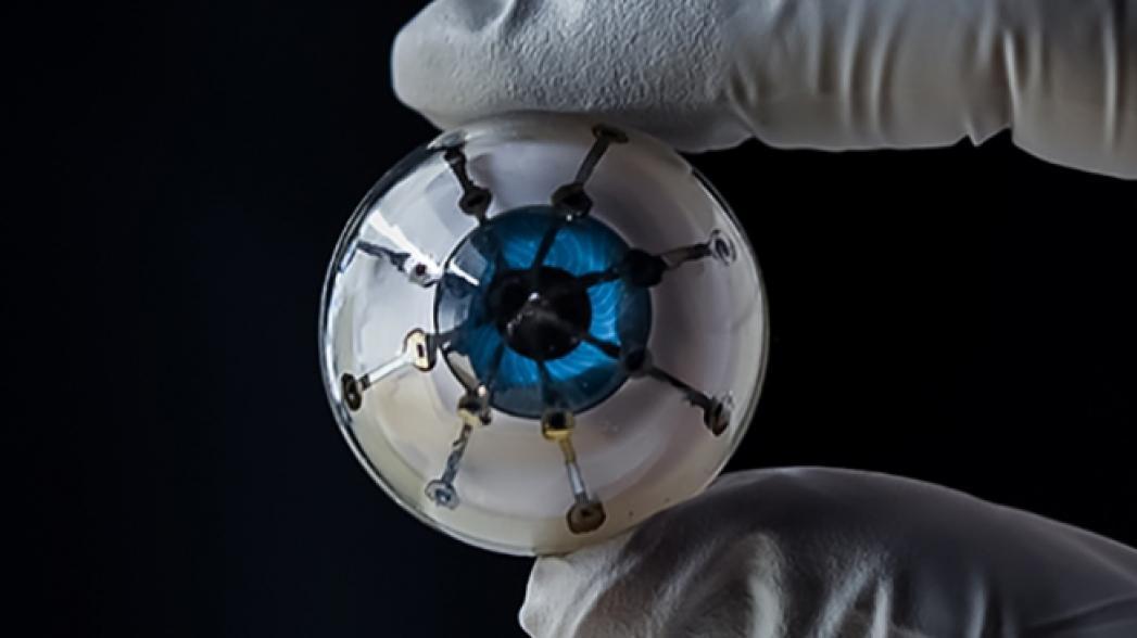 Бионический глаз из 3D-принтера