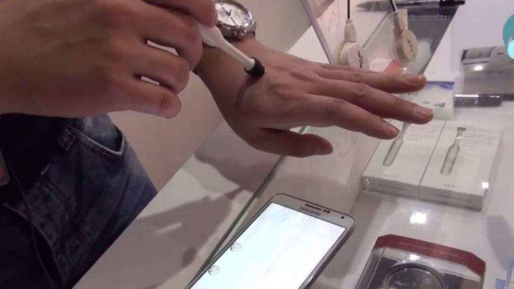Дерматоскоп и портативные ЭКГ от компании Solmitech. Evercare на Mobile World Congress 2016