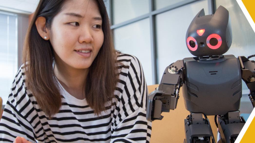 Робот для психологической и физической поддержки при реабилитации при ДЦП