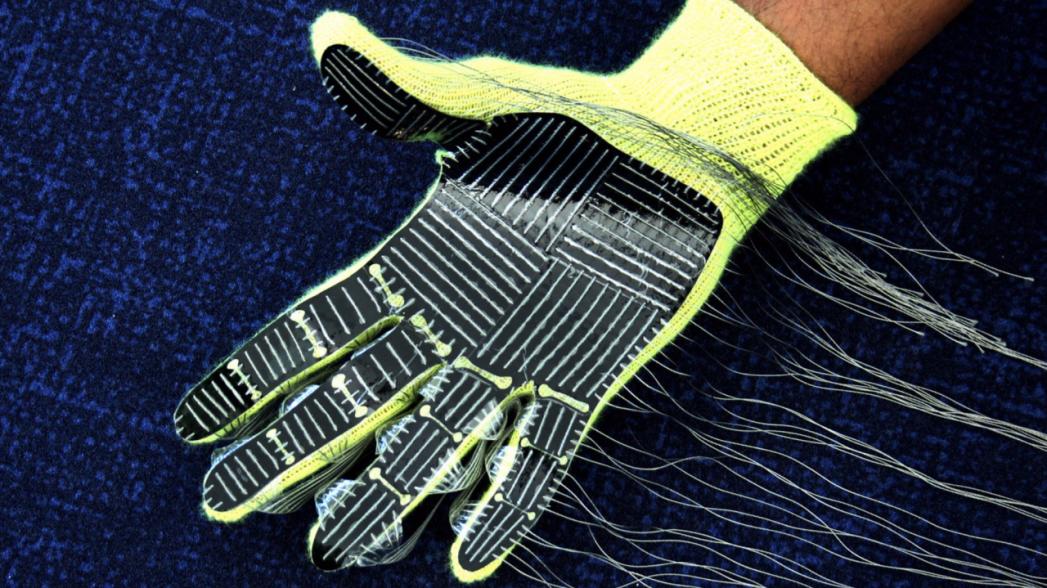 Перчатка, которая способна идентифицировать объекты