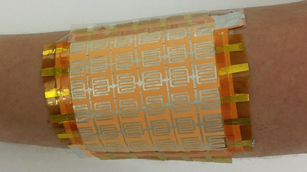 Гибкий сенсор, сделанный из того, что было