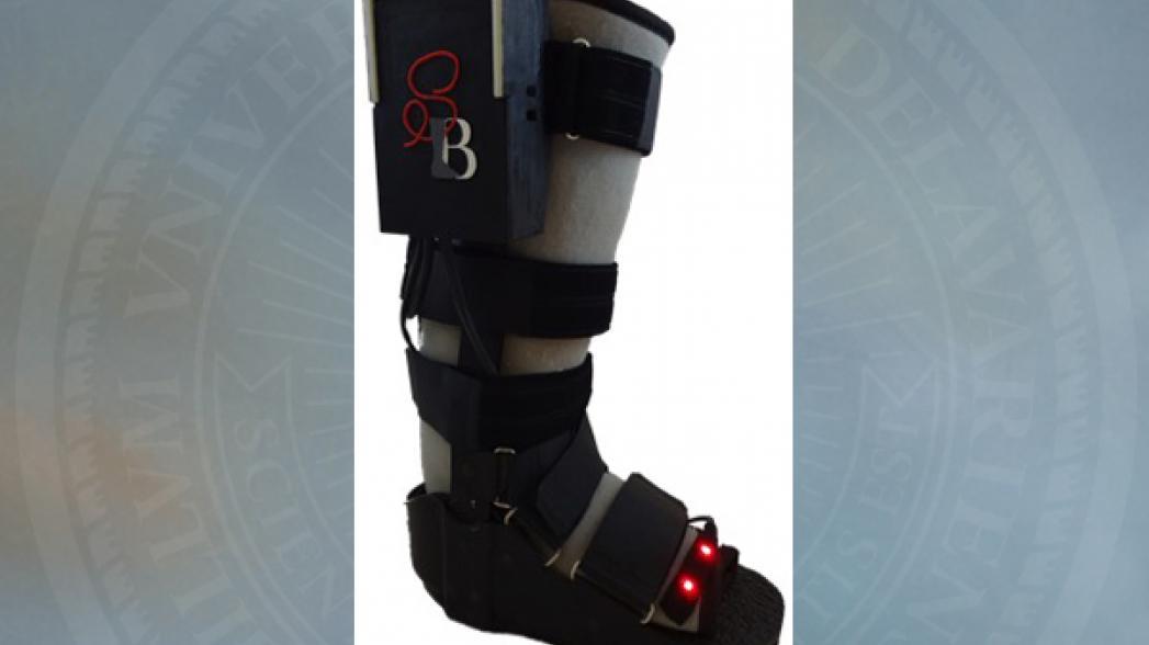 """""""Чувствующая"""" обувь для контроля заживления костных травм"""