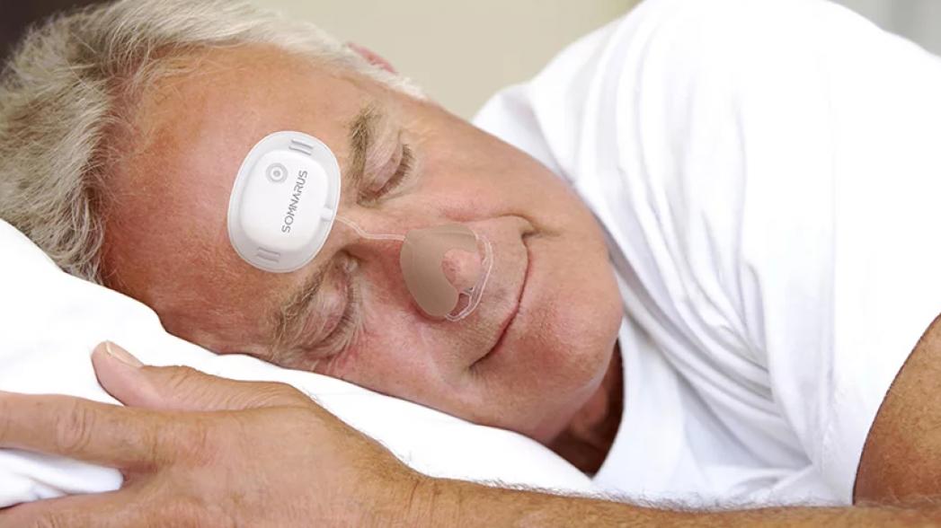 Somnarus: Компактное устройство для контроля апноэ сна