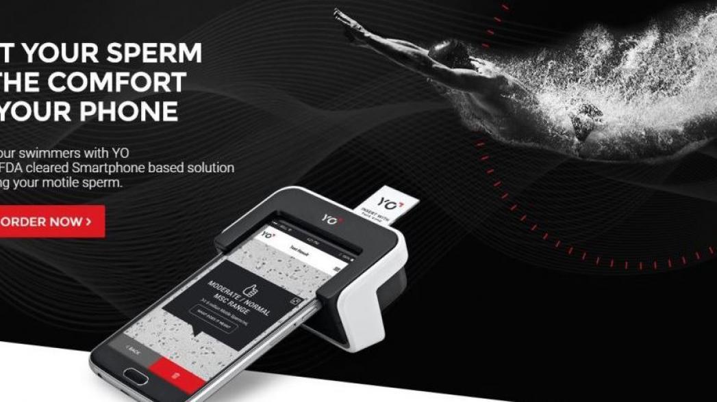Устройство проверки спермы на базе смартфона