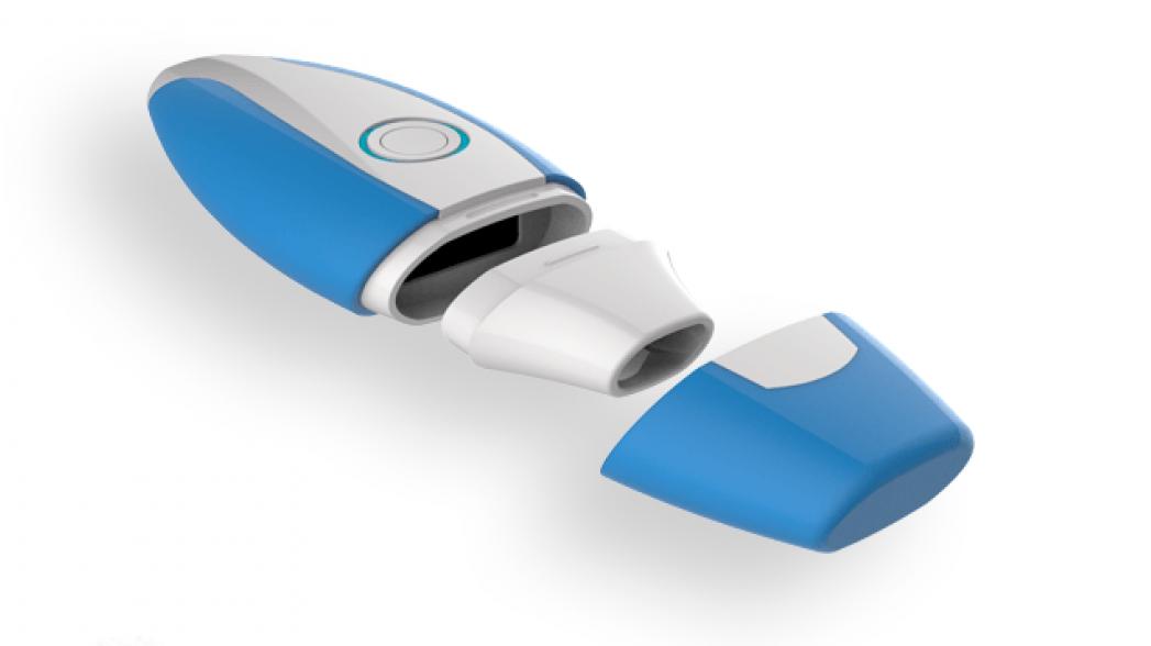 Миниатюрный спирометр для контроля работы легких