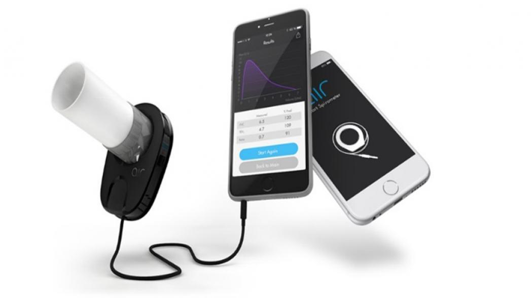 Мобильный спирометр на базе смартфона