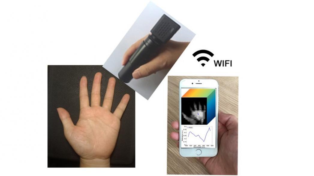 Дешевый портативный спектрометр для проверки биологических образцов