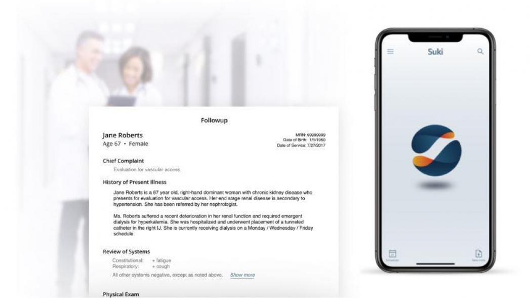 «Alexa для врача» на 70% снижает объем работы с электронной медицинской картой