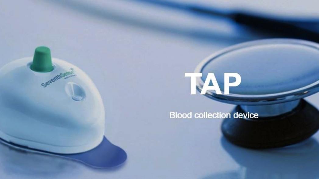 Устройство для забора крови без боли от Seventh Sense