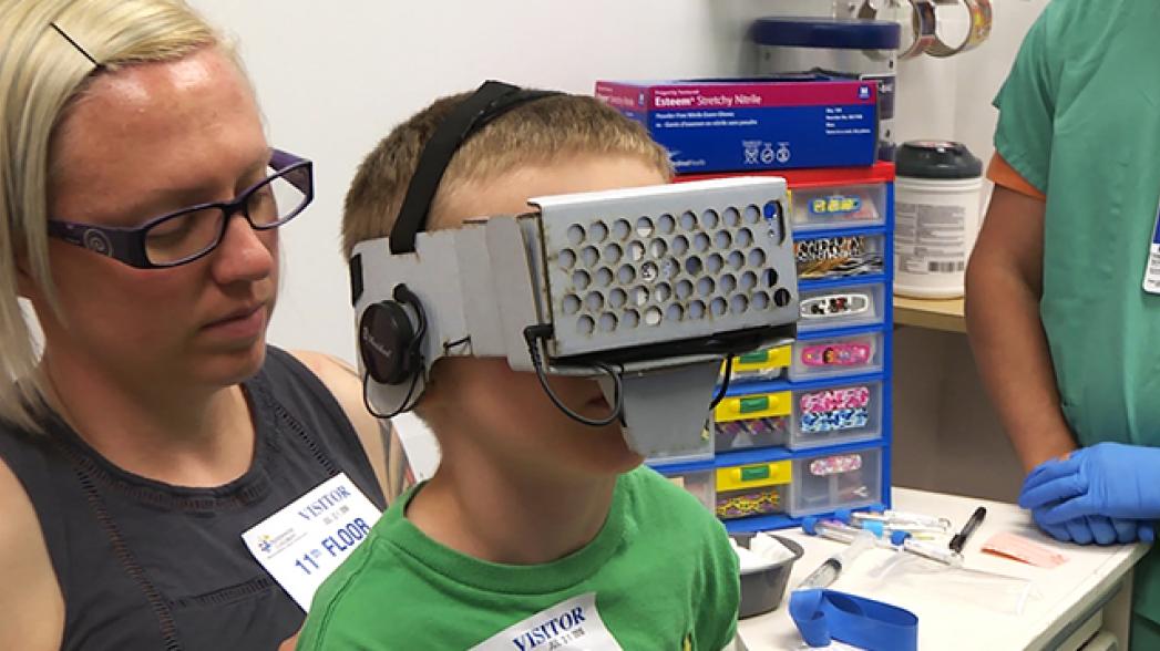 Виртуальная реальность в помощь детям с гемофилией