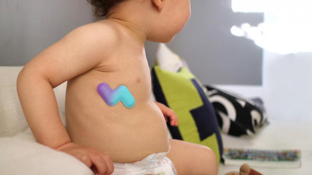 Беспроводной термометр для малыша
