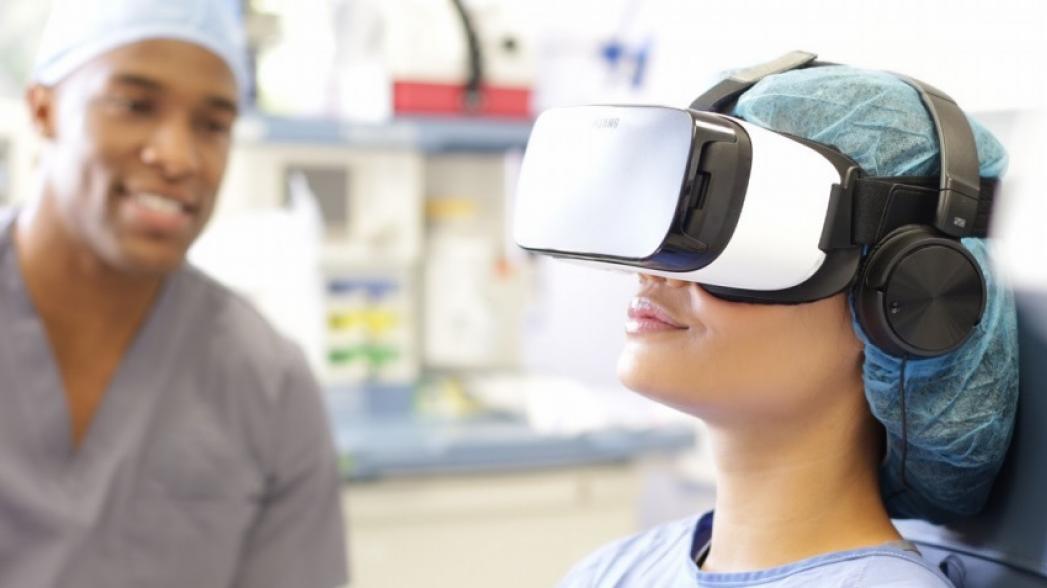 Виртуальная реальность спасает от боли в реальности