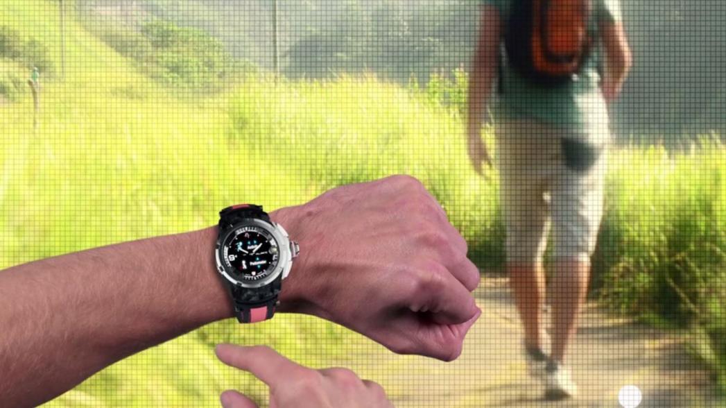 Умные часы Alpha Pro от швейцарской компании Hyetis. Evercare на Mobile World Congress 2016