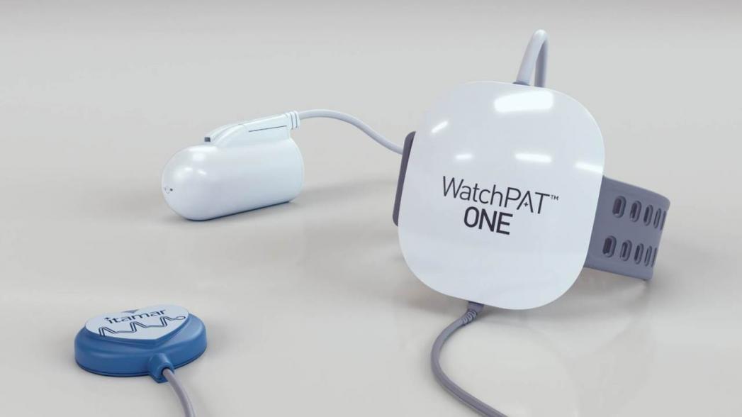 WatchPAT One: домашний одноразовый прибор для обнаружения апноэ сна