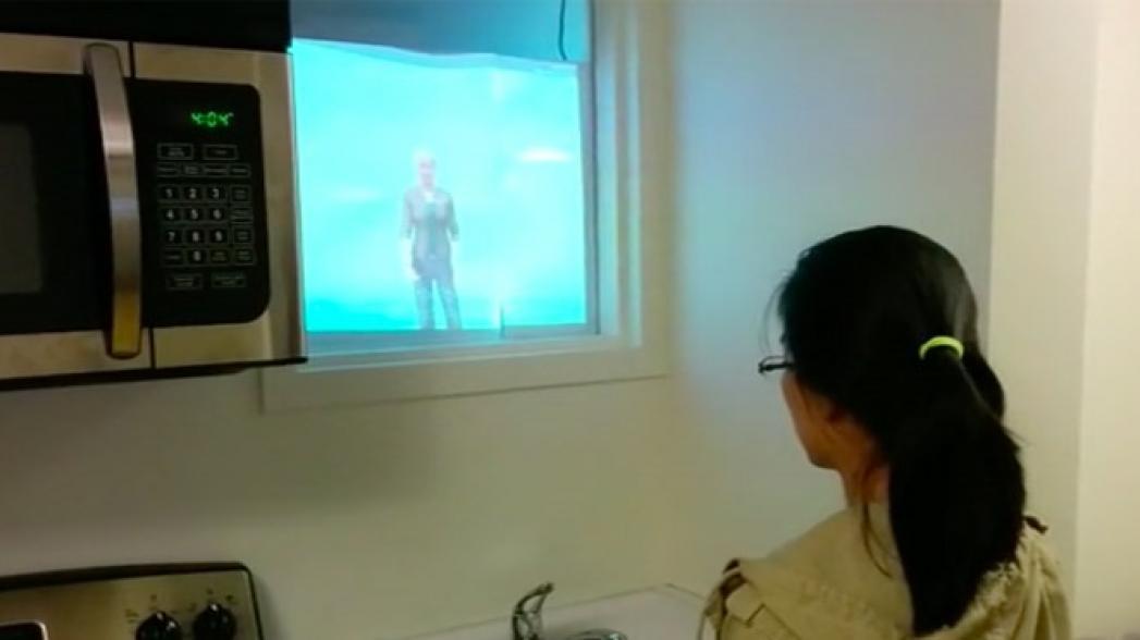 Виртуальный помощник для людей с болезнью Альцгеймера