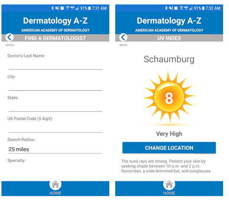 Устройства и приложения для дерматологии [7]