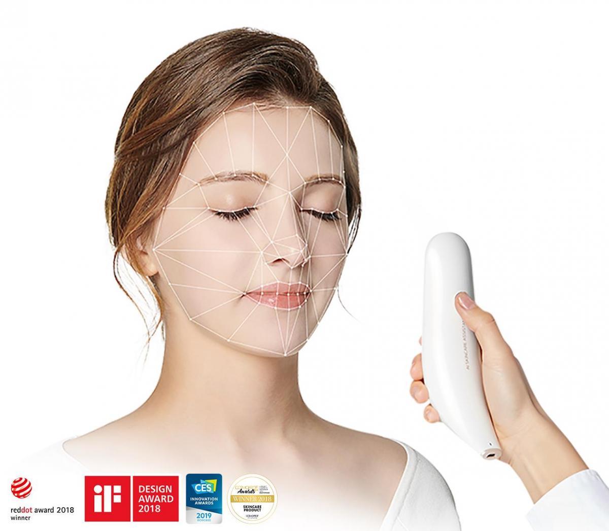 LUMINI: устройство для диагностики состояния кожи лица